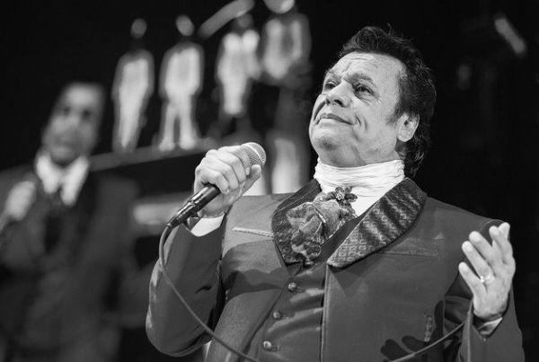 Juan Gabriel performs on stage during Volver 2015 Tour at Viejas Arena on Feb. 6, 2015 in San Diego, Calif.   PHOTO: DANIEL KNIGHTON /WIREIMAGE