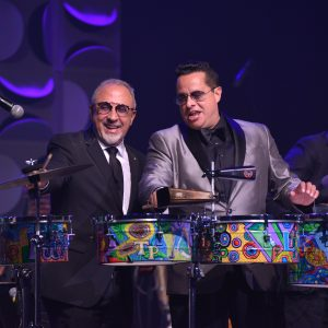 Emilo Estefan and Tito Puento Jr