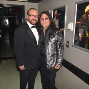 LSHOF Co-Founders Desmond Child and Rudy Perez